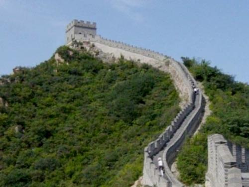 Gran muralla China y torre de vigilancia