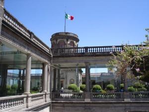 área del castillo de chapultepec.