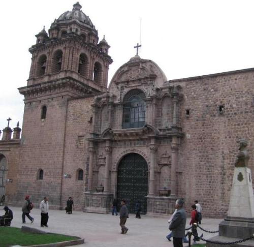 Fachada del Templo de la Merced en Cusco