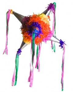 La tradicional Piñata