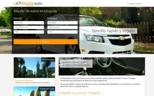 Alquilar auto en Montevideo