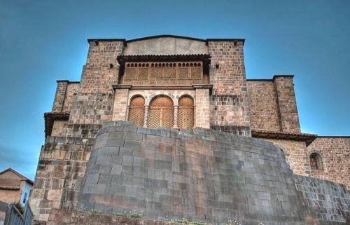 Restos del Koricancha en el convento de Santo Domingo
