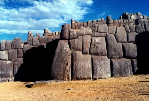 Niveles uno y dos de la fortaleza de Sacsayhuaman