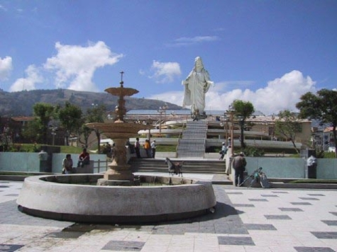 Antigua Plaza de armas de Huaraz