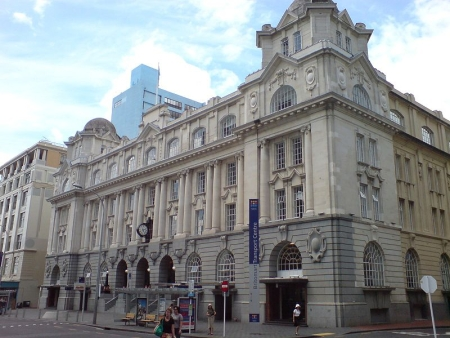 La estación Britomart Outside Facade
