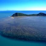 Foto aérea de las islas australianas