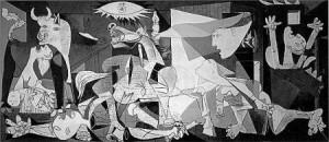 El árbol de Guernica - Picasso