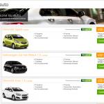 Listado autos alquiler