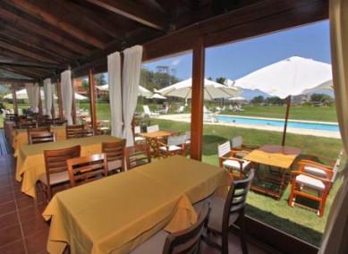 Hotel terraza de mar